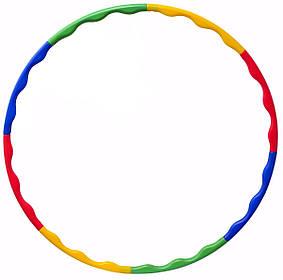 Гимнастический обруч хула хуп LiveUp разборной (пластик)