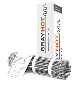 Двужильный нагревательный мат GrayHot