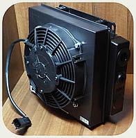 Охладитель для маслостанций - 24V [30-140л/мин] (405x368)