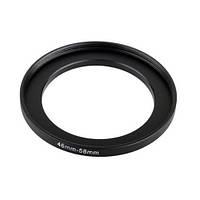 Повышающее степ кольцо 46-58мм для Canon, Nikon