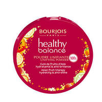 BOURJOIS Healthy Balance Пудра комп.витаминизированная № 55 dark beige темный беж
