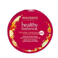 BOURJOIS Healthy Balance Пудра комп.витаминизированная № 53 light beige светлый беж