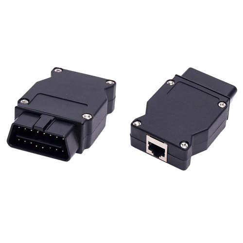 ENET переходник OBD2 16pin папа - Ethernet для BMW