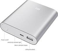 Портативное зарядное устройство зарядка Power Bank 10400 mah Xiaomi Red, Silver, Grey