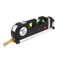Лазерный уровень, рулетка 2.5м Level pro 3 XX