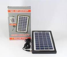 Универсальная солнечная батарея панель зарядка Solar board 3W - 9V с возможностью заряжать фонарь