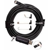 10м USB/microUSB камера HD 2MP 8.5мм бороскоп, эндоскоп