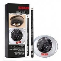 Pupa набор LUMINYS KIT тени№12+карандаш для глаз №01 (Ref 340877)