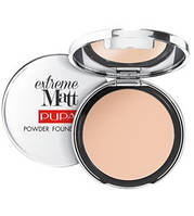 Pupa  Пудра компактная Extreme Matt Powder Foundation 11 g. № 010 Porcelaine