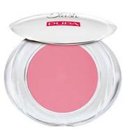 Pupa  Румяна компактные с матовым эффектом Like A Doll Matt Effect Compact Blush 5 g. № 101 Pastel Pink
