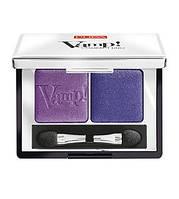 Pupa  Тени двойные Vamp! Compact Duo Eyeshadow 2,2 g. № 11 ROCK VIOLET