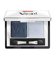 Pupa  Тени двойные Vamp! Compact Duo Eyeshadow 2,2 g. № 12 MAGNETIC BLUE
