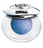Pupa  Тени компактные одинарные  VAMP! Wet&Dry №304 INDIGO BLUE