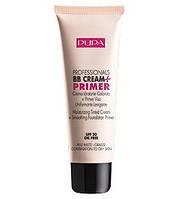 Pupa  Тональный крем основа под макияж для жирной и смешанной кожи Profesional bb Cream + Primer Combination to oily skin 50 ml. № 002 Sand