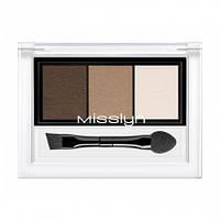 Misslyn Пудра для бровей Eyebrow & lift powder 0,8 g. № 7 COFFEE SHADES