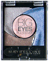 MAYBELLINE тени BIG EYES №04 luminous blue 3,7 г