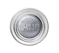 MAYBELLINE  тени COLOR TATTOO 24HR №50 eternal silver