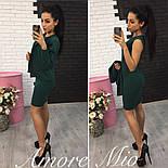 Женский стильный комплект-двойка: платье и жакет (3 цвета), фото 4