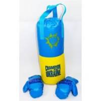 Боксерский набор Украина BX 068-40, BAMSIK, средний 48*13 см
