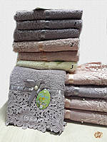 Полотенце для рук Кружево с бусинкой