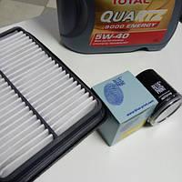 Комплект фильтров + масло моторное синтетическое 5W-40 4L Geely CK/CK2