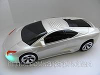 Портативная колонка MP3 USB sps 980 Lamborghini White,  купить, TF, MicroSD, радио, FM, белая