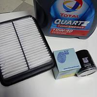 Комплект фильтров + масло полусинтетическое 10W-40 4L Geely CK/CK2
