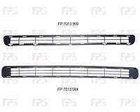 Решетка  в передний бампер средняя  нижняя TOYOTA RAV4 06-09