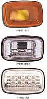 Указатель поворота на крыле левая сторона+правая сторона белый прозрачный TOYOTA CARINA II 87-91