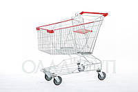 Тележки торговые для супермаркетов 150 литров