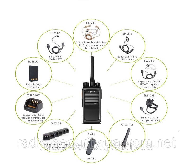 Радиостанция портативная цифровая HYTERA PD505