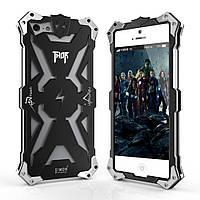 Чехол накладка бампер Simon Thor для iPhone SE 5s 5 черный