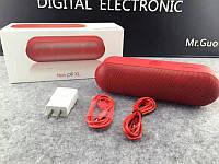 Портативный динамик B3 NEW PILL XL Bluetooth (черный, белый, красный), акустическая колонка