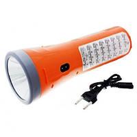 Ручной светодиодный фонарь Yajia YJ 2822 на аккумуляторе