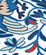 """Декоративная наволочка с вышивкой """"Жар-птица"""" 44х44 полиэстер TRAUM 5321-05, синий, фото 3"""