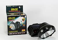 Налобный светодиодный фонарь GD Lite GD 216s на аккумуляторе и солнечной батарее