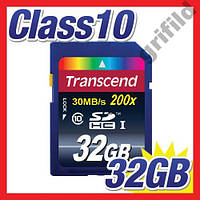 Карта памяти Transcend SDHC 32GB class 10 UHS-I