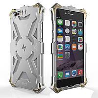 Чехол накладка бампер Simon Thor для iPhone 6s 6 4.7 серебристый
