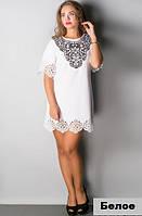 Модное платье для девушек и женщин-Шарлин-белое