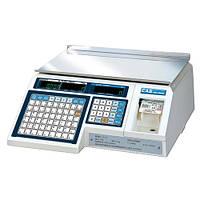 Весы торговые CAS LP 1.6 (с печатью самоклеющихся этикеток)