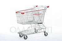 Тележки торговые для супермаркетов 210 литров
