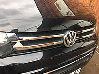 Накладка на решетку Volkswagen Т5/T6 (фольксваген т5/т6), 4 шт нерж. (2010>)