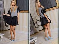 Женская шерстяная юбка размер 44