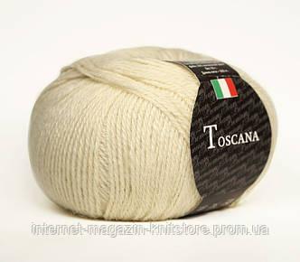 Пряжа Сеам Toscana Молочный
