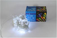 Новогодняя светодиодная гирлянда  LED 200 W ( 200 светодиодов ) Цвет белый