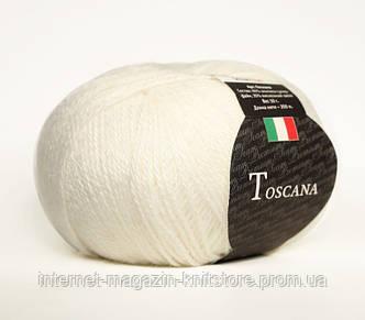Пряжа Сеам Toscana Белый