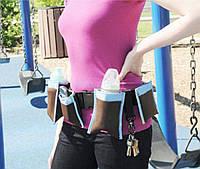 Органайзер для молодых мам Waist Diaper Bag, сумка-пояс с карманами Вейст Диапер Бег