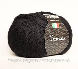 Пряжа Сеам Toscana Черный