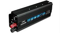 Автомобильный преобразователь напряжения 12V-220V 2000W авто инвертор AC/DC 2000W SSK в коробке