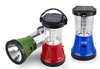 Кемпинговый фонарь YT-799 светодиодный на солнечной батарее